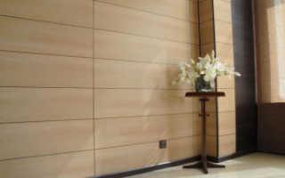 Облицовка стен панелями МДФ технология монтажа