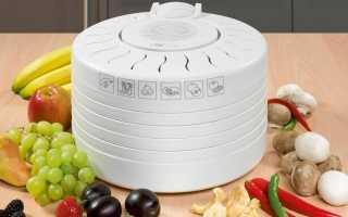Принцип работы сушилки для овощей и фруктов