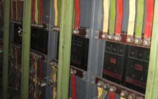 Цветовая маркировка кабеля по ПУЭ