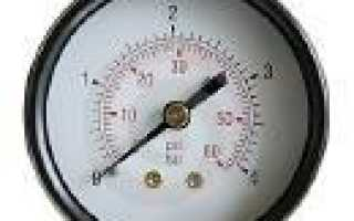 Приборы измерения давления виды принцип действия