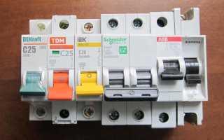 Китайские автоматические выключатели