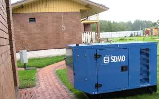 Подключение бензинового генератора как резервного электропитания