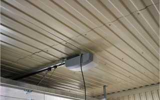 Потолок в гараже обшить дешево красиво