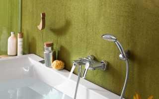 Расстояние от ванны до смесителя стандарты