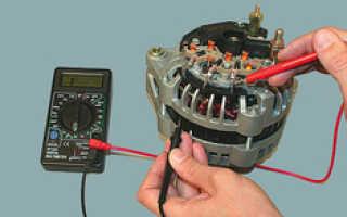 Как проверить снятый генератор на работоспособность