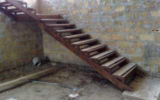 Как правильно сварить лестницу из металла?