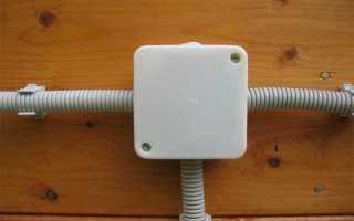 Распред коробка электрическая внутренняя