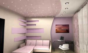 Натяжные потолки сатин или матовые разница