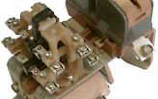 Принцип работы контактора переменного тока