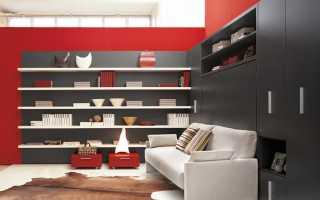 Трансформирующаяся мебель для малогабаритных квартир