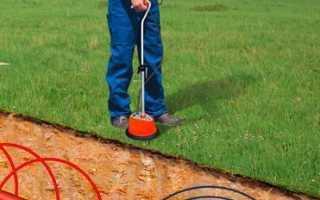 Поиск обрыва кабеля под землей